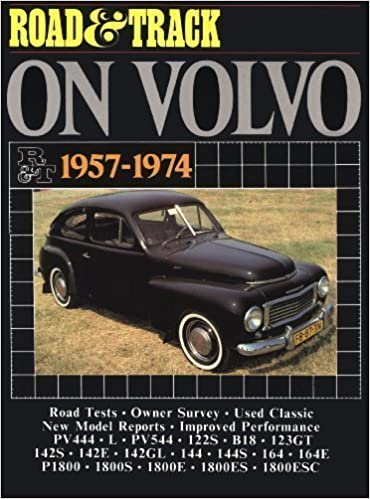 Road & Track on Volvo 1957-1974 (Road & Track Road Tests Series) (Brooklands Books Road Tests Series) New Edition by Road & Track published by Brooklands Books Ltd (2001)