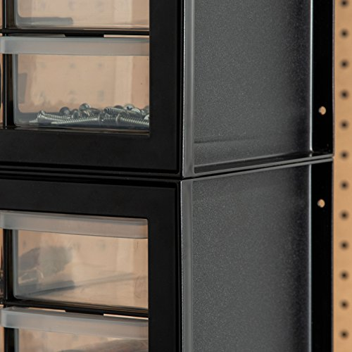 IRIS USA, Inc. DPC-44 44 Drawer Parts and Hardware Cabinet, Black by IRIS USA, Inc. (Image #5)