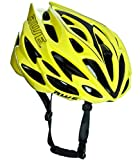 AWE AWESpeed FREE 5 YEAR CRASH REPLACEMENT* In Mould Adult Mens Road Racing Cycling Helmet 58-61cm Neon