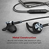TaoTronics Active Noise Cancelling Headphones, Wired Earphones In Ear Corded Earbuds with 15 Hours Playtime and Built-in Microphone (Noise Reduction, Aluminum Alloy Construction)[Upgraded Version]