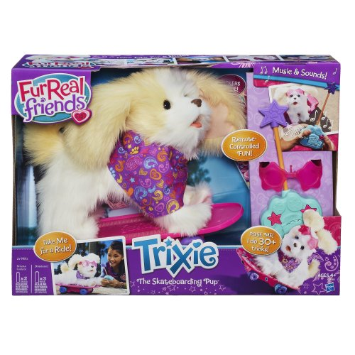 FurReal Friends Trixie - The Skateboarding Pup by FurReal (Image #1)