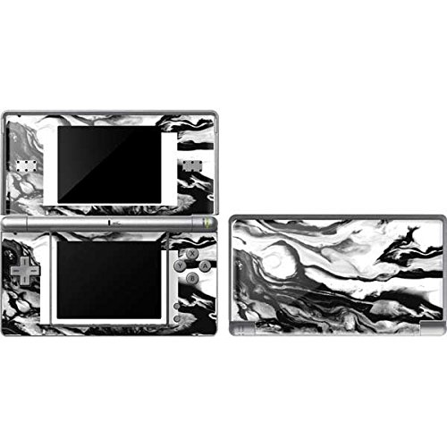 (Skinit Marble DS Lite Skin - Black and White Marble Ink Design - Ultra Thin, Lightweight Vinyl Decal Protection)
