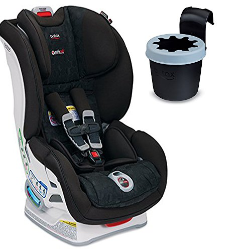 Britax Boulevard ClickTight Convertible Car Seat with Black Cup Holder, Circa