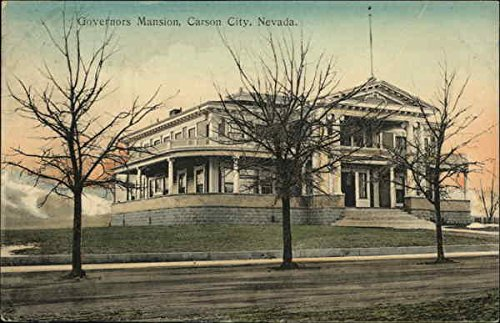 Governors Mansion Carson City Nevada Original Vintage