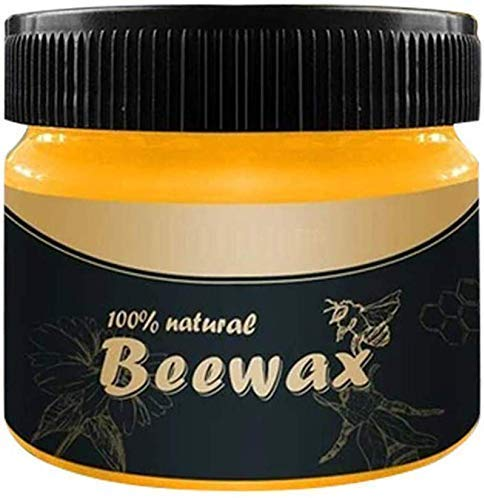 Wood Seasoning Beewax,Traditional Beeswax Polish for Wood & Furniture, All-Purpose Beewax for Wood Cleaner and Polish Wipes - Furniture Care Multipurpose Natural Beeswax,No Build-Up