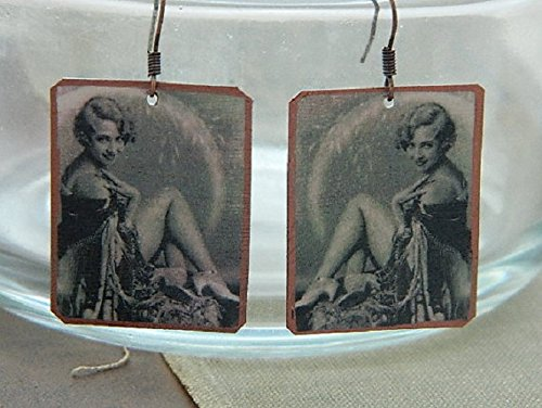 pin-up-girl-earrings-ziegfeld-follies-doris-eaton-travis-mixed-media-jewelry