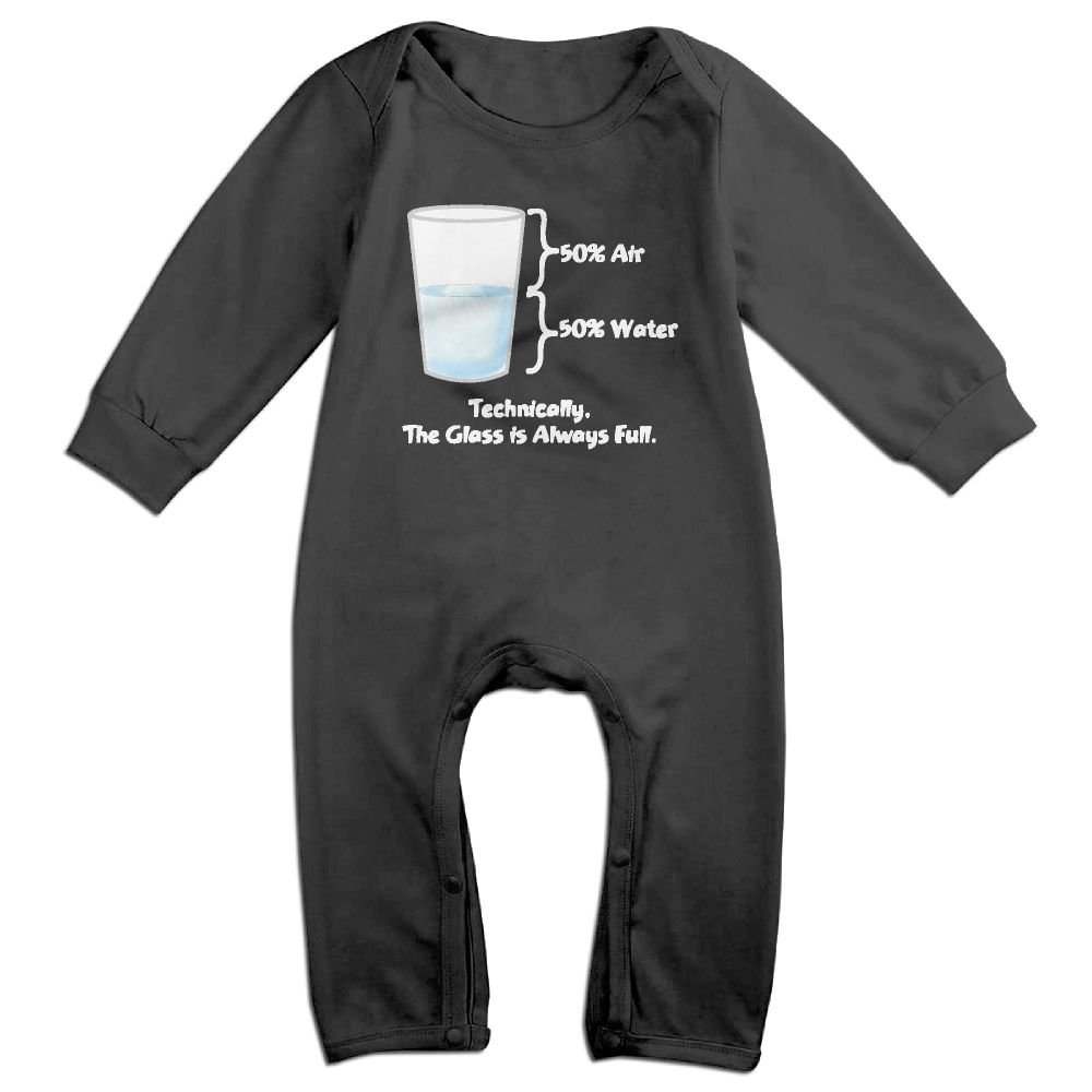NEWBABY Technically The Glass Is Completely Newborn Baby Clothes For 6-24m Baby