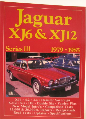 Jaguar XJ6 and XJ12, Series III -