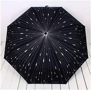 Cool Cargo The 3 Folding Parasols Rain Umbrella Meteors Painting Anti UV Umbrella Men Women Umbrellas YP0304064