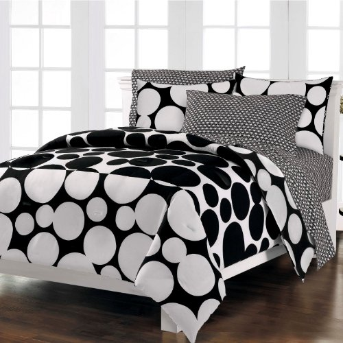 Loft Style Spot The Dot Modern Bedding Comforter Set