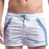 SUNVP Men's Mesh Pocket Short