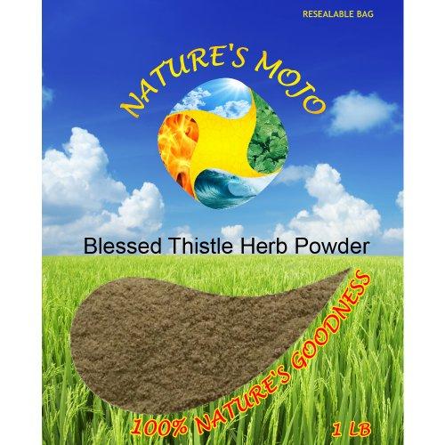 Mojo Блаженный Thistle порошок травы 1 фунт природы