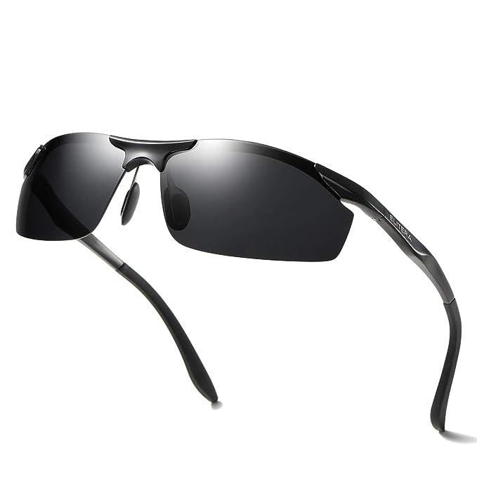 Amazon.com: ELITERA - Gafas de sol polarizadas de magnesio ...