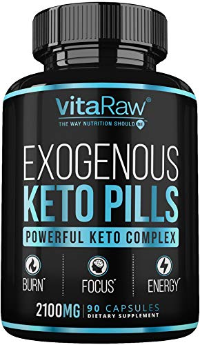 Keto Pills - (3X Powerful Dose | 2100mg Keto BHB) Best Keto Burn Diet Pills - Advanced Exogenous Ketones BHB Supplement - Max Strength Keto Diet Pills for Women + Men - 90 Capsules