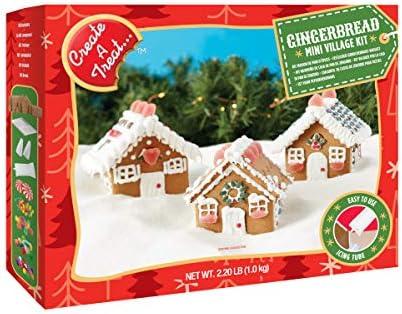 Create A Treat/ジンジャーブレッドミニヴィレッジキット Gingerbread Mini Village Kit 18012961