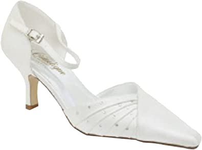 CRINOLIGNE Chaussure Ceremonie Femme, mariée Enora de