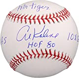 Al Kaline Detroit Tigers Autographed Baseball with Multiple Inscriptions - Fanatics Authentic Certified