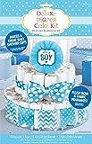 """It's a Boy"" Deluxe Diaper Cake Decor Kit | Baby"