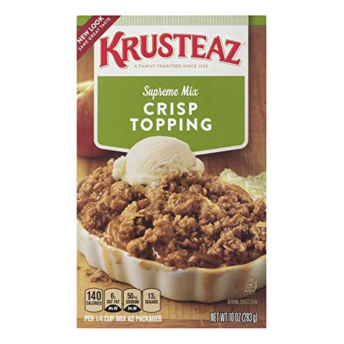 Krusteaz Crisp Topping Supreme Mix, 10-Ounce Boxes (Pack of 12)