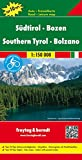 Carte routière : Südtirol, Bozen