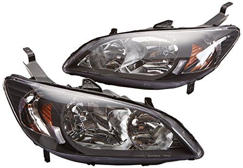compare price 2005 honda civic lx headlights on. Black Bedroom Furniture Sets. Home Design Ideas