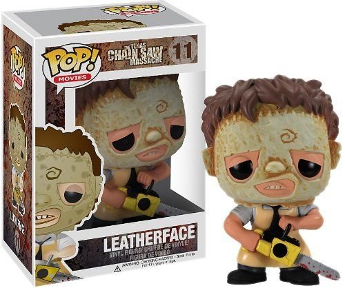 [Pop Horror Movies Leatherface Vinyl Action Figure Collectible Toy 3.75