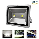 Cheap Richday 140W LED Flood Light 120V Outdoor Waterproof Security Light Flood Fixture 6500k Daylight white Floodlight 900W Halogen Bulb Equivalent