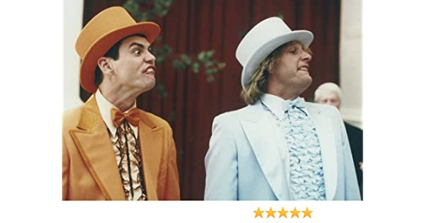 Jim Carrey and Jeff Daniels in Dumb and Dumber To in wedding suits 24x36  Poster