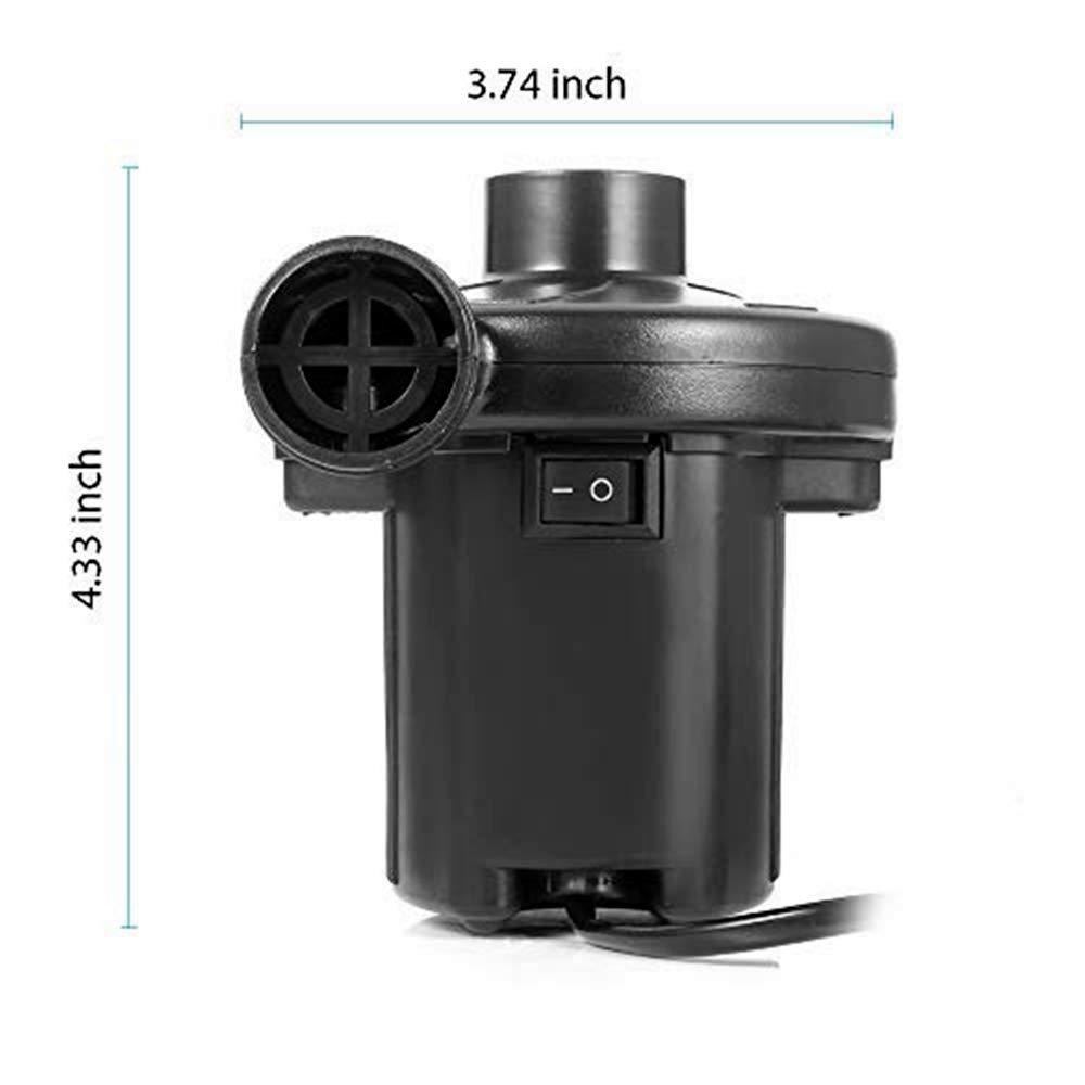 Amazon.com: Veahom Bomba de aire eléctrica inflable ...