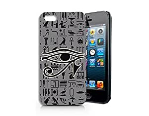 SUPERTRAMPshop - Ancient Egypt Symbols Of Power - Cover Iphone 4S Full Protection Slim White Case