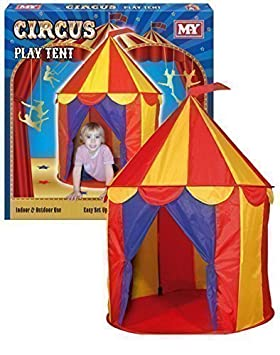 M.Y Childrens Big Top Circus Playhouse Tent  sc 1 st  Amazon UK & M.Y Childrens Big Top Circus Playhouse Tent: Amazon.co.uk: Toys ...