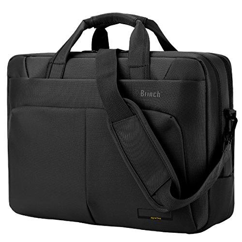 BRINCH Laptop Bag,  17.3 inch Nylon Waterproof Roomy Stylish