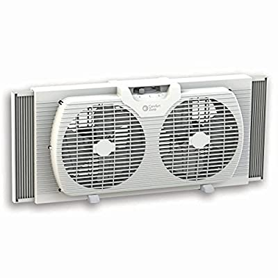 Comfort Zone Portable Twin Window Fan