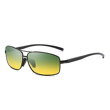CONGCASE Gafas de Sol clásicas para Hombres Lentes ...