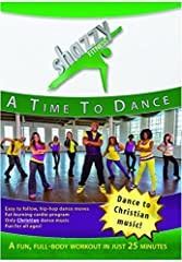 This intermediate high-energy dance fitness workout video is designed by leading faith-based fitness producers Shazzy Fitness to burn fat and calories in just 25 minutes a day through fun cardio dance moves with music that also strengthens yo...