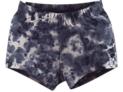 Dye Volleyball Spandex (Tie Dye Compression Shorts Black X-Small)