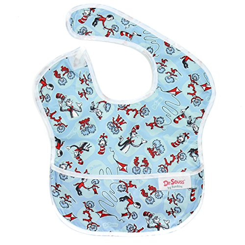 [Bumkins Waterproof SuperBib, Seuss Cat in the Hat (6-24 Months)] (Dr Seuss Baby Halloween Costumes)