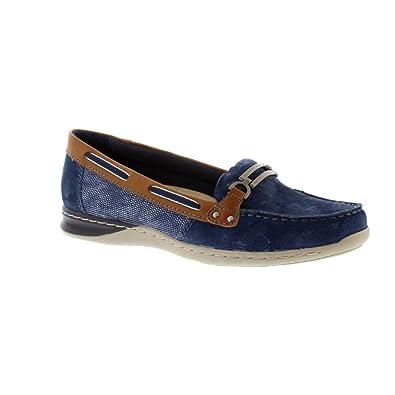 official supplier good texture new concept Earth Spirit ST Louis Blue Navy 6: Amazon.co.uk: Shoes & Bags