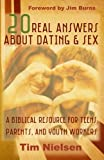 img - for 20 Real Answers About Dating & Sex: A Biblical Resource for Teens, Parents, and Youth Workers book / textbook / text book