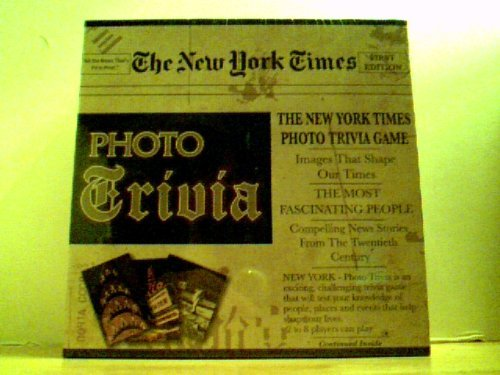 The New York Times Photo Trivia Games by Excalibur