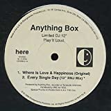 Where Is Love & Happiness (Original) , (Ultraviolet Mix) , Every Single Day (12