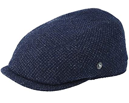 City Sports Sixpence Navy Flat Cap  Amazon.co.uk  Clothing a56415e6d38