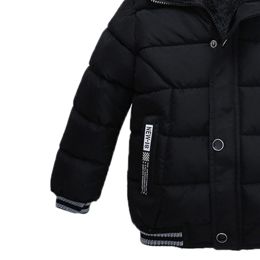 Teen Baby Boys Girls Winter Thick Coat Padded Jacket Kids Clothes DIGOOD For 1-5 Years Old