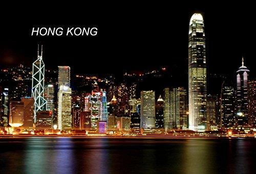 China Hongkong Fridge Refrigerator Magnets (City: Hongkong - C10)