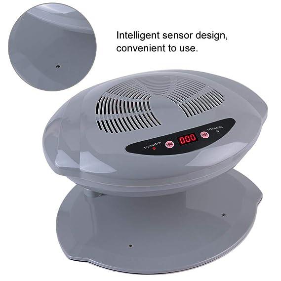 400W Secador de Uñas de Aire Frío y Caliente con Sensor Inteligente(Plata): Amazon.es: Belleza