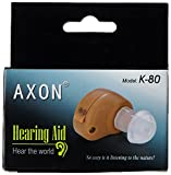 Axon K 80 Hearing Aid and Voice Amplifier (Beige)