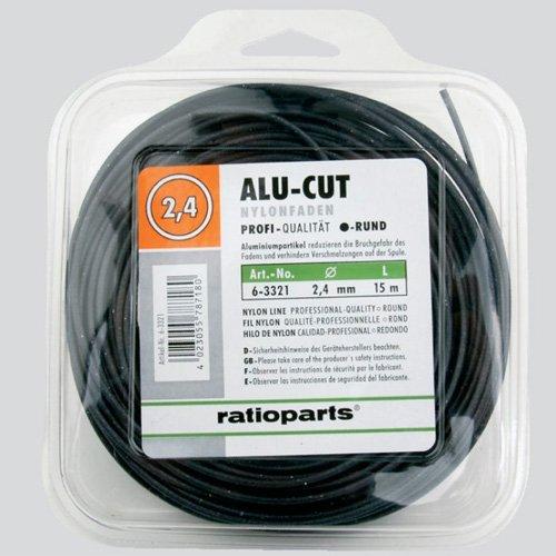 Ratio Parts Nylon Hilos alucut Redondo 2, 4 mm x 15 m Hilo para ...