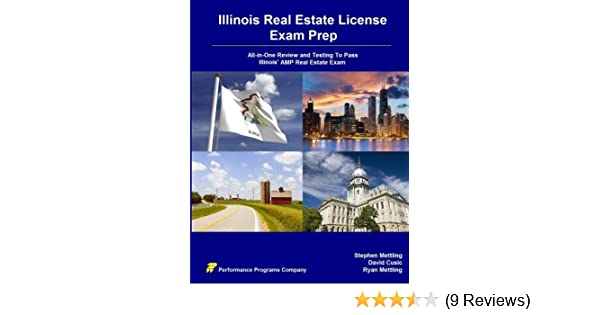 Illinois Real Estate License Exam Prep All In One Review And