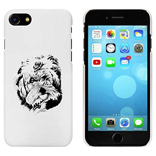 Blanc 'Tête de Chien' étui / housse pour iPhone 7 (MC00070890)