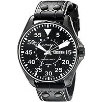 Hamilton H64785835 Khaki King Pilot Black Dial Men's Watch